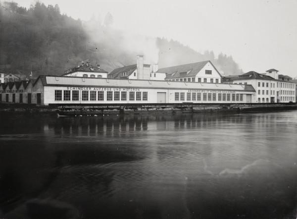 Aufzugfabrik Schindler - Sentimatt - Stadtarchiv Luzern