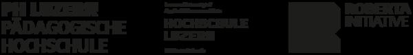 Logos PH Luzern, Hochschule Luzern, Roberta Initiative