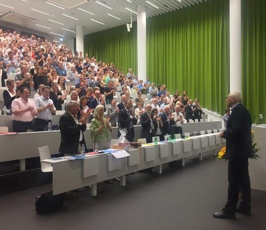 Verabschiedung Michael Zutaverns im Uni/PH-Gebäude