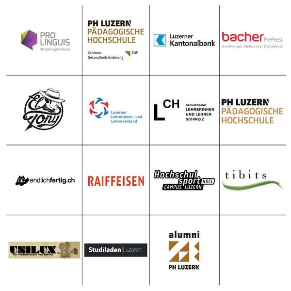 Die Partner-Logos der StudOrg