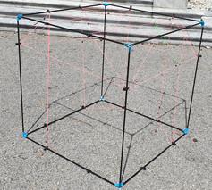 Geometrischer würfel