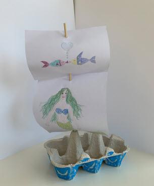 Eierschachtelschiff