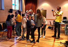 Schülerinnen des GelBe Mentoring Projekt