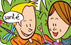 Kinder die miteinander sprechen