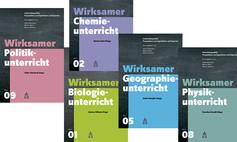 Fünf Cover von «Wirksamer Fachunterricht»