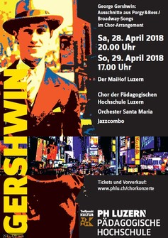 Plakat Gershwin