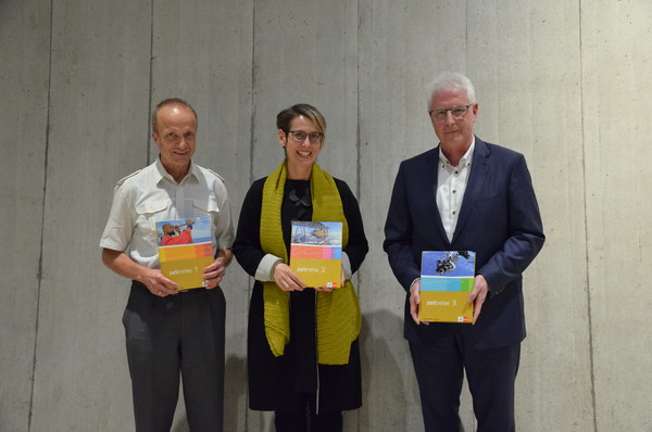 Hans Utz, Karin Fuchs und Peter Gautschi (v.l.)