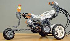 Roboter aus Legoteile