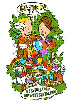 Lernumgebung Gesundheit Logo