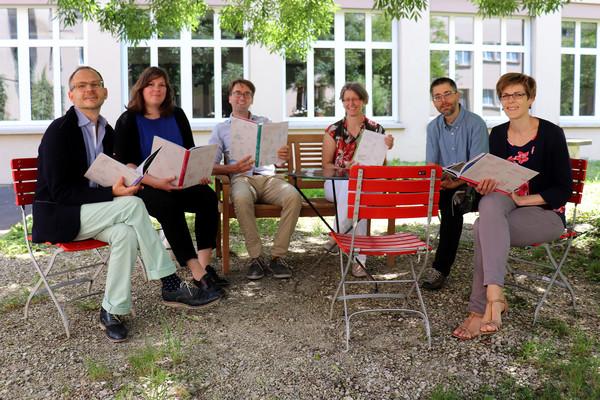 Die Autorinnen und Autoren des Lehrmittels.