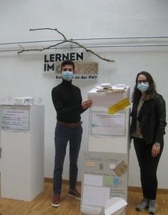 Studierende präsentieren «Lernen im Grünen» im HS20 (TTG-Modul) - Interaktive Ausstellung zum Campus Horw in der Sentimatt